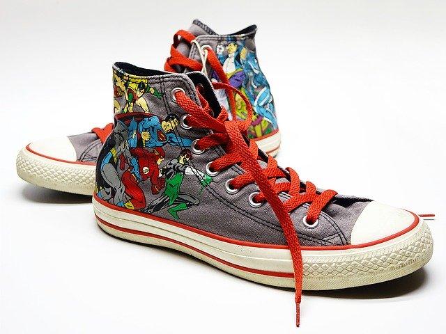 Superhelden Schuhe